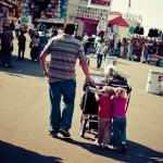 My family at the fair!